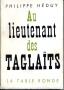 AU LIEUTENANT DES TAGLAITS