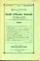 BULLETIN DE LA SOCIETE D HISTOIRE NATURELLE DE L'AFRIQUE DU NORD