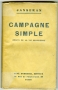 CAMPAGNE SIMPLE