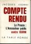 COMPTE RENDU,