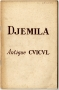 DJEMILA  ANTIQUE CVICVL