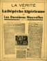 LA VERITE SUR LA DEPECHE ALGERIENNE