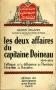 LES DEUX AFFAIRES DU CAPITAINE DOINEAU 1856 - 1874