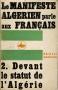 LE MANIFESTE ALGERIEN PARLE AUX FRANCAIS