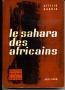 LE SAHARA DES AFRICAINS