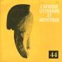 L'afrique litteraire et artistique N°44  - 1977