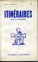 REVUE MENSUELLE ITINERAIRES N°164 JUIN 1972