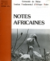 Revue: NOTES AFRICAINES n° 152