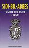 SIDI-BEL-ABBES, GUIDE DES RUES 1958